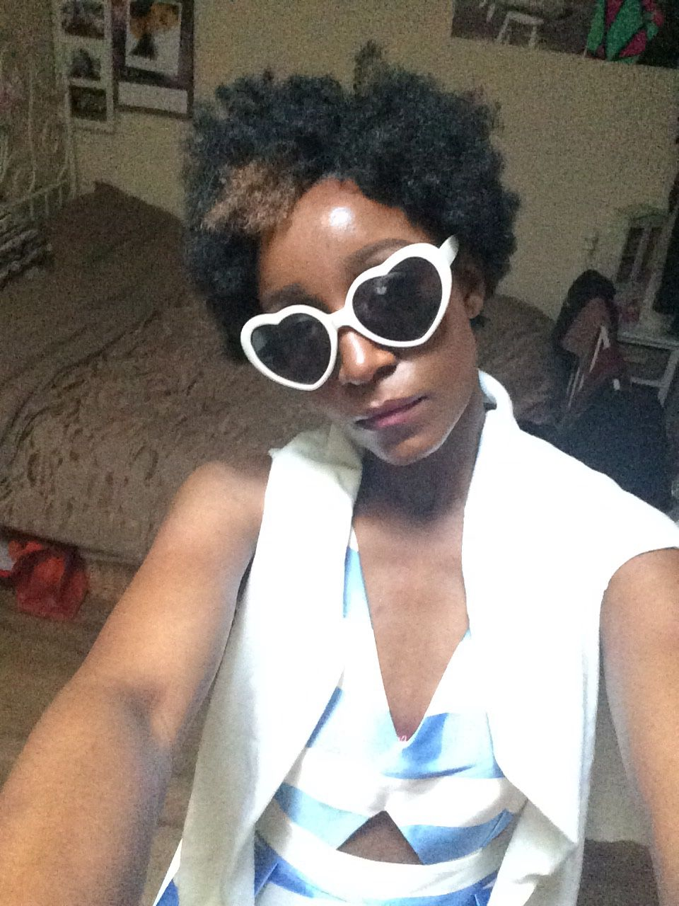 Some Kinda Pretty — Love heart sunnies. Ready for our Atticus big...