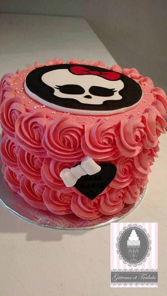Monster high cake   Monster high cake, Cake, Desserts