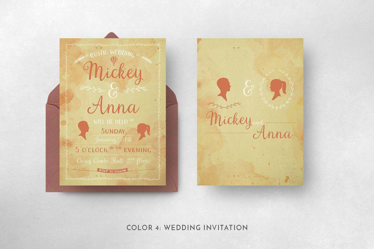 Photo of Classic Watercolor Suite , #AD, #wreath#wedding#invitation#drawn #affiliate