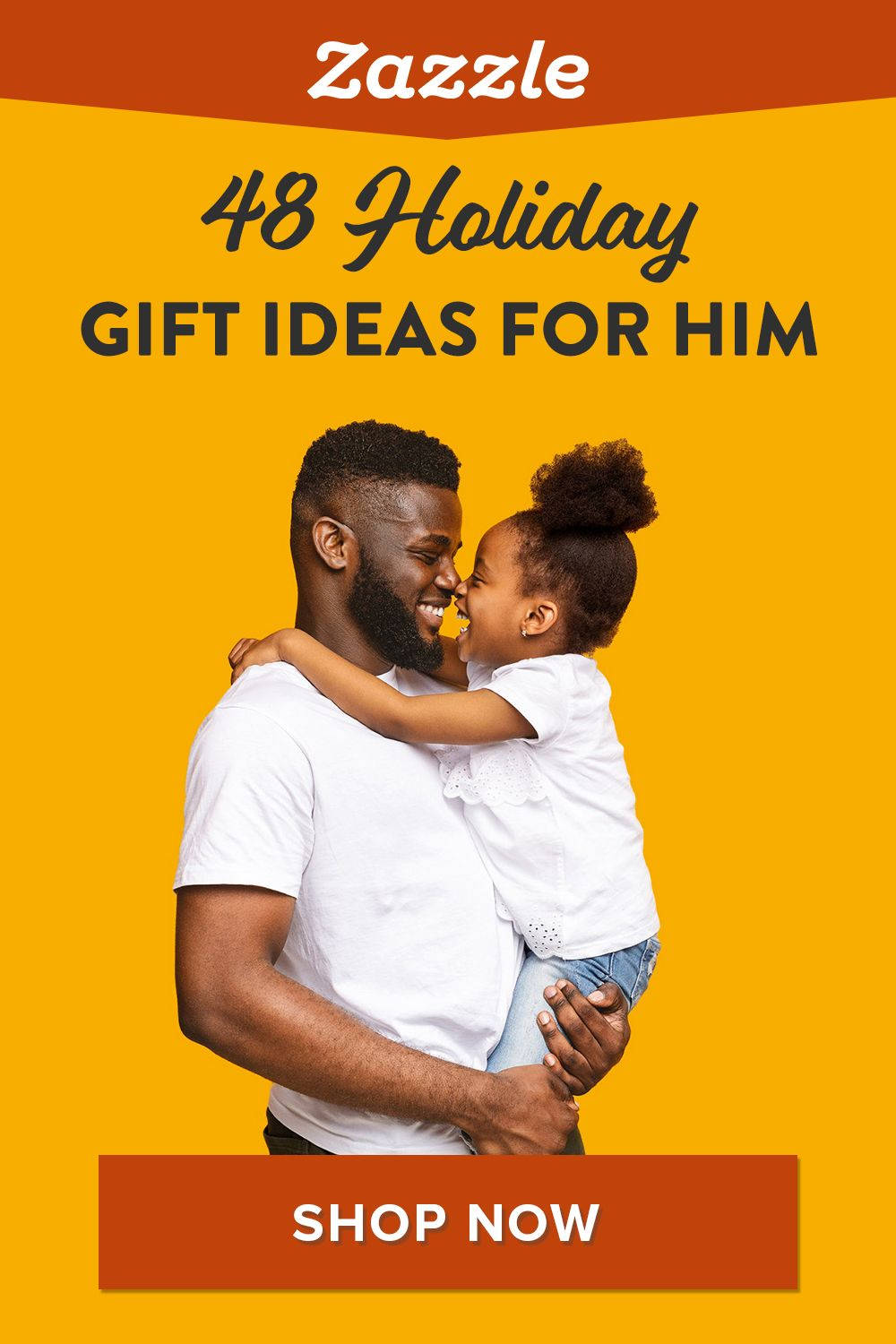 Looking on the perfect gift for dad, grandpa, or brother? Check out our gift guide that features 48 ideas for him. Shop Zazzle for all things holiday including holiday cards, decor, apparel and more.