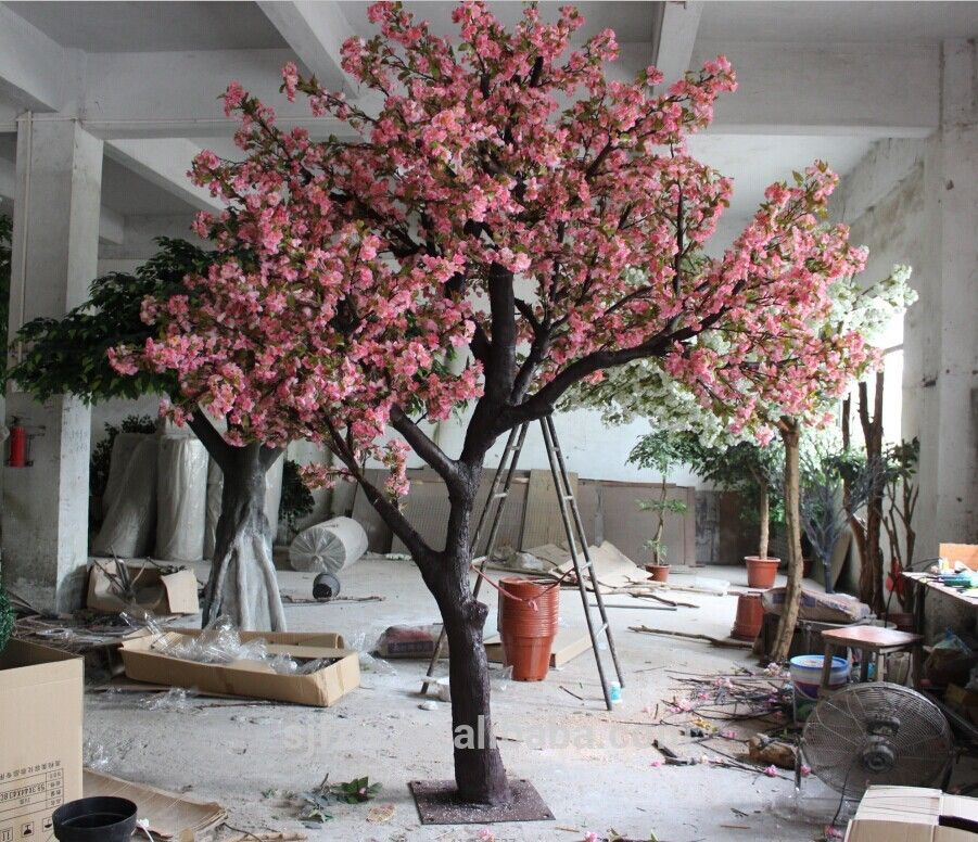 Source customized artificial cherry blossom tree in for Cheap trees