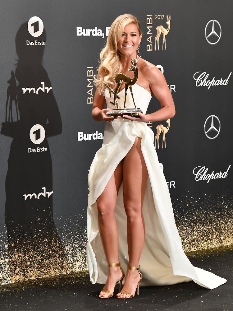 Emotionale Bambi-Gala in Berlin: Helene Fischer schwärmt, Diane Kruger weint