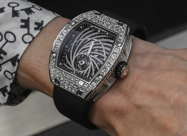 Paris thief swipes $840,000 watch from Japanese man's wrist #luxury #watches #luxurywatches #posh #luxurywatches