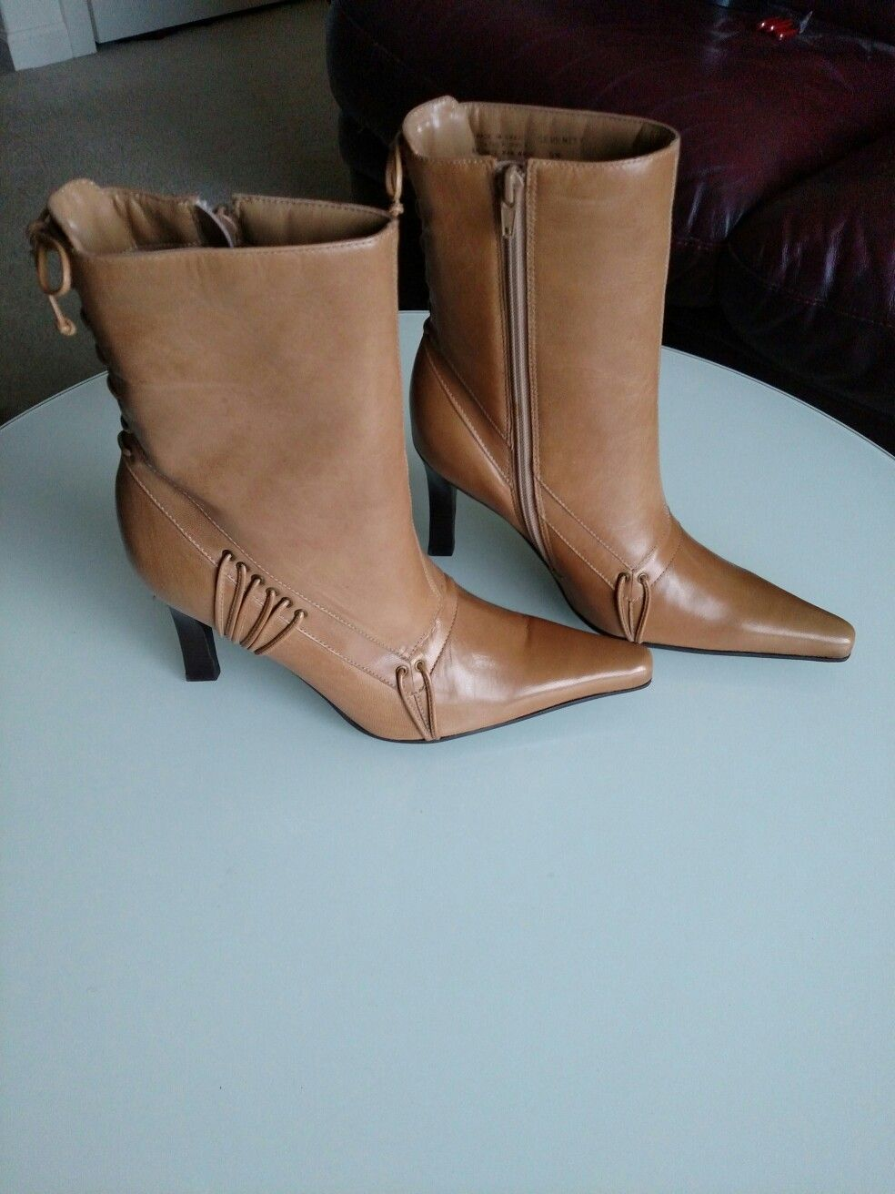 Brazilian leather boots, amazing design. | Vintage shoes for every ...