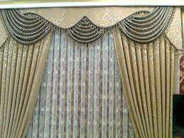 Curtains Scallops Window Treatments Insulated Blinds Seared Dressings D Shades