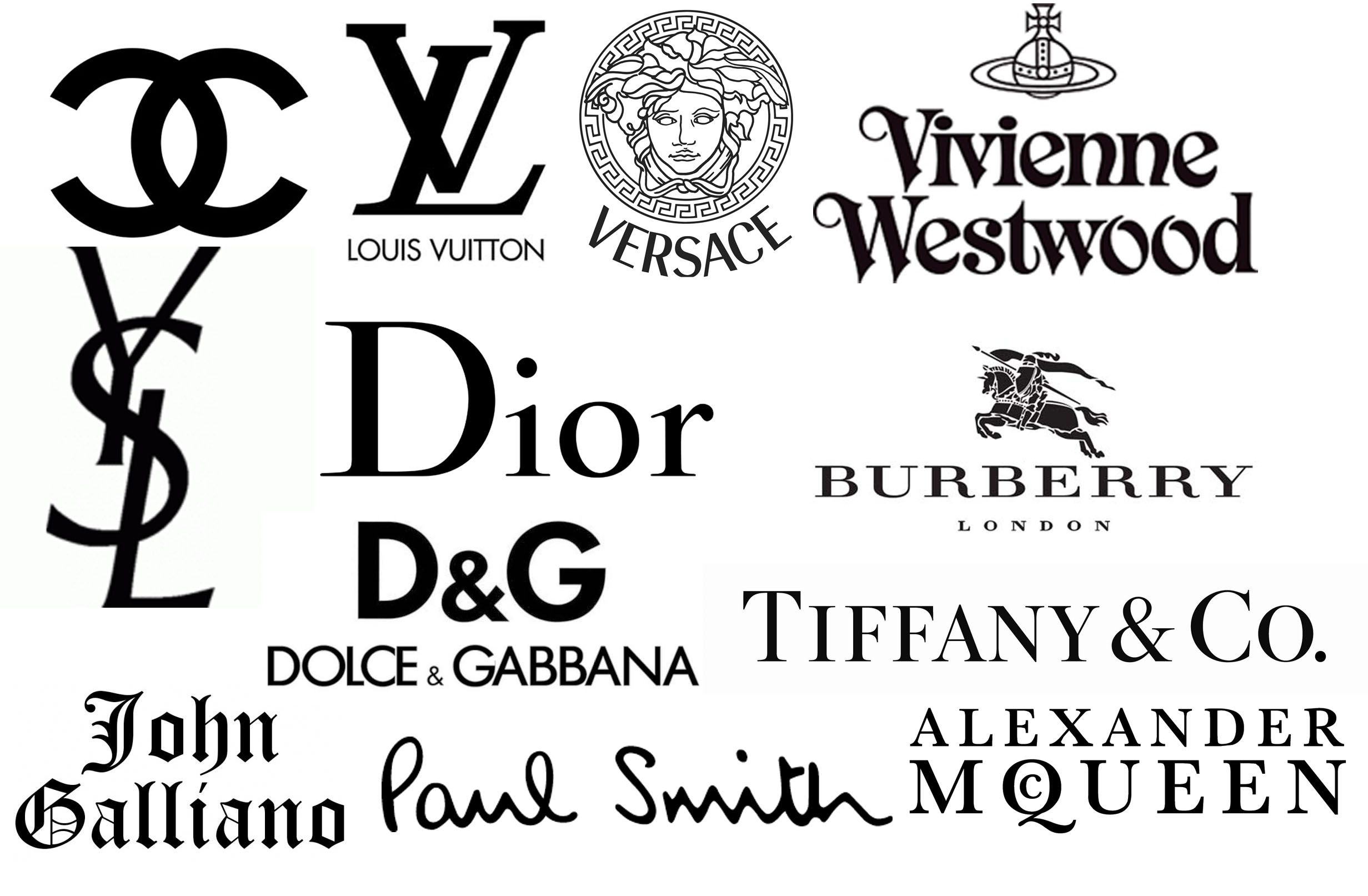 Designer label logos | Logos & Trademark Ideas | Fashion ...