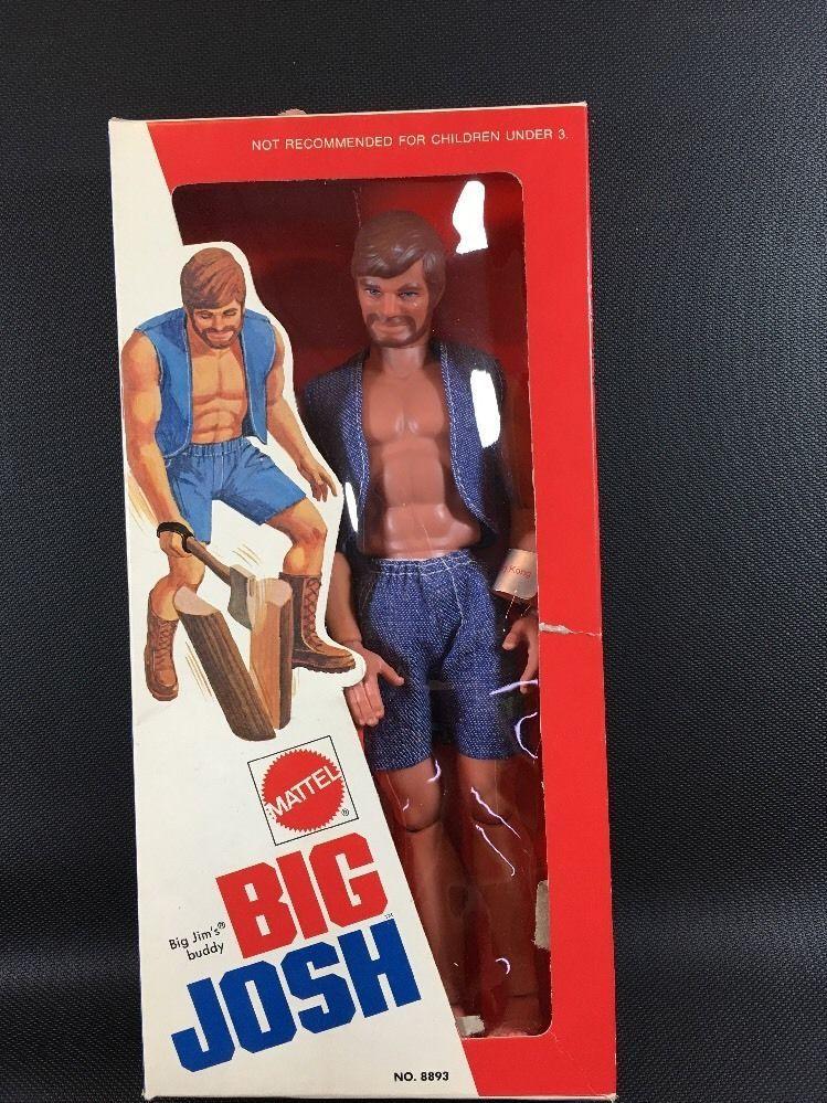 1972 Mattel Big Josh Action Figure Big Jim's Buddy Sealed