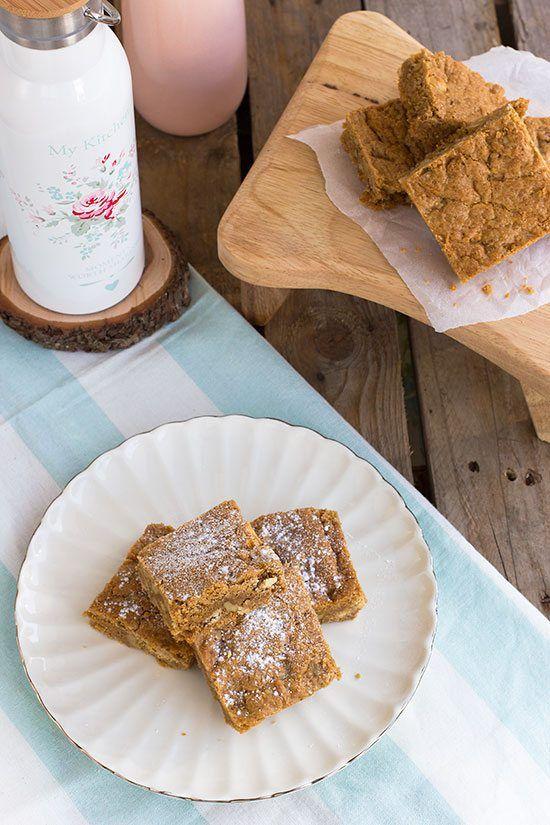 Receta de brownie de vainilla by blogmegasilvita.com