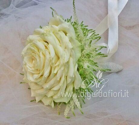 Bouquet Sposa Unica Rosa.Bouquet Da Sposa Rosone Bouquet Da Sposa Bouquet Fiori Per