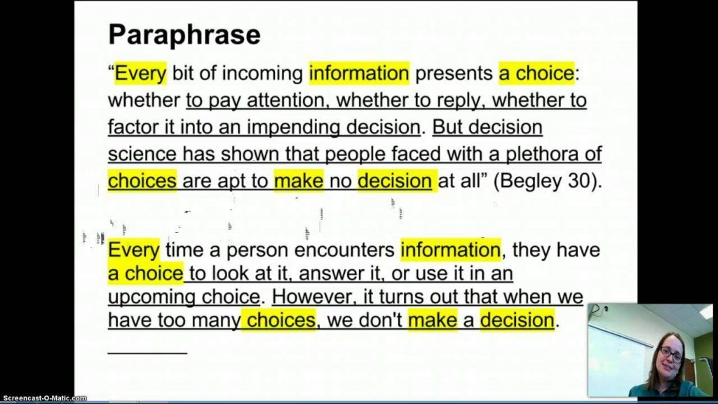 Quote Paraphrase Summary How To Paraphrasing Cite In Apa Within A Online Essay Writer Picture Quotes Purdue Owl