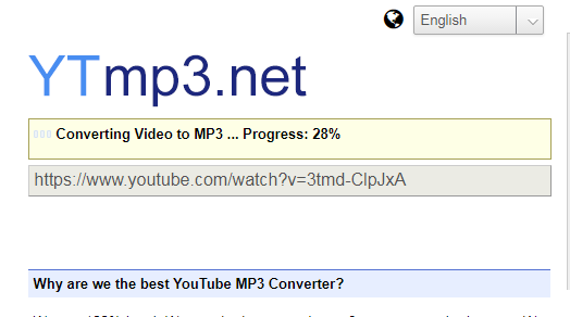 YTmp3 net - Youtube-Mp3 Client Side Converter (Review