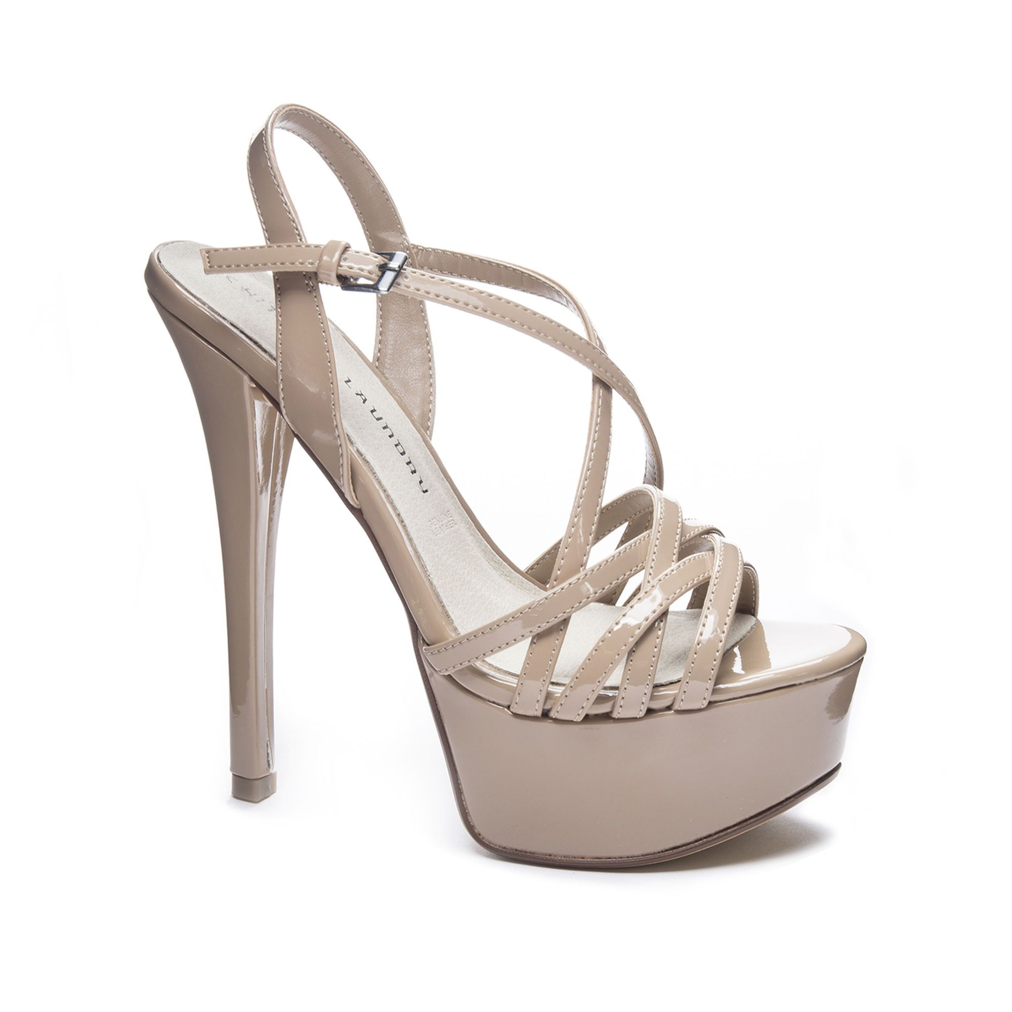 5ccdbf25b346 Chinese Laundry Tippy Top   Teaser Strappy Patent Sandal