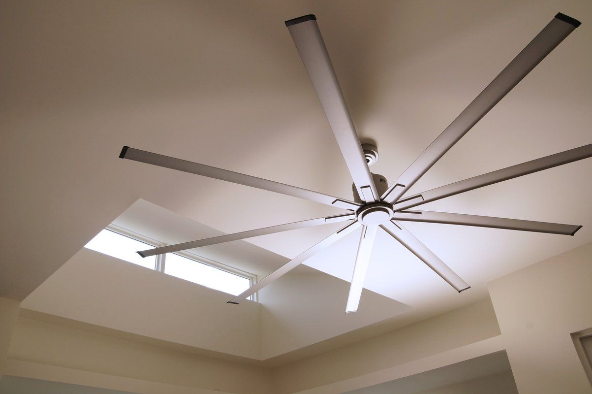96 Wolsingham 9 Blade Ceiling Fan With Remote Industrial Ceiling Fan Ceiling Fan Modern Ceiling Fan