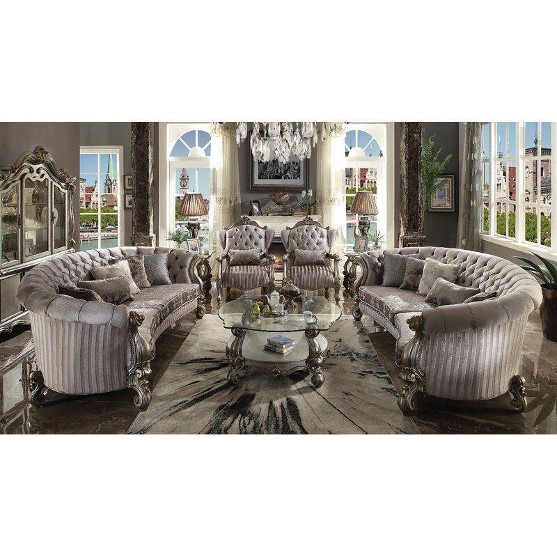 Astoria Grand Jazmin Configurable Living Room Set Wayfair Living Room Collections Living Room Sets Furniture