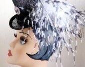 Mini top Hat noir steampunk : Chapeau, bonnet par lady-bibi sur ALittleMarket