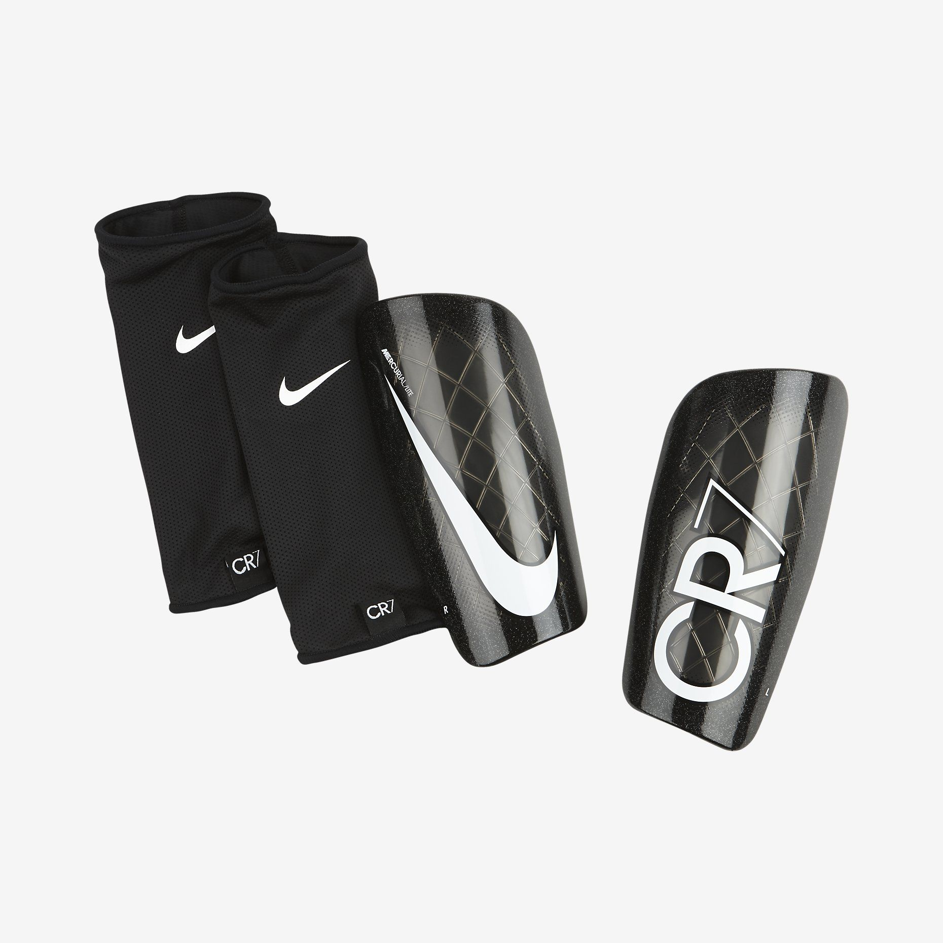 Large Nike Adult Mercurial Lite Soccer Shin Guards
