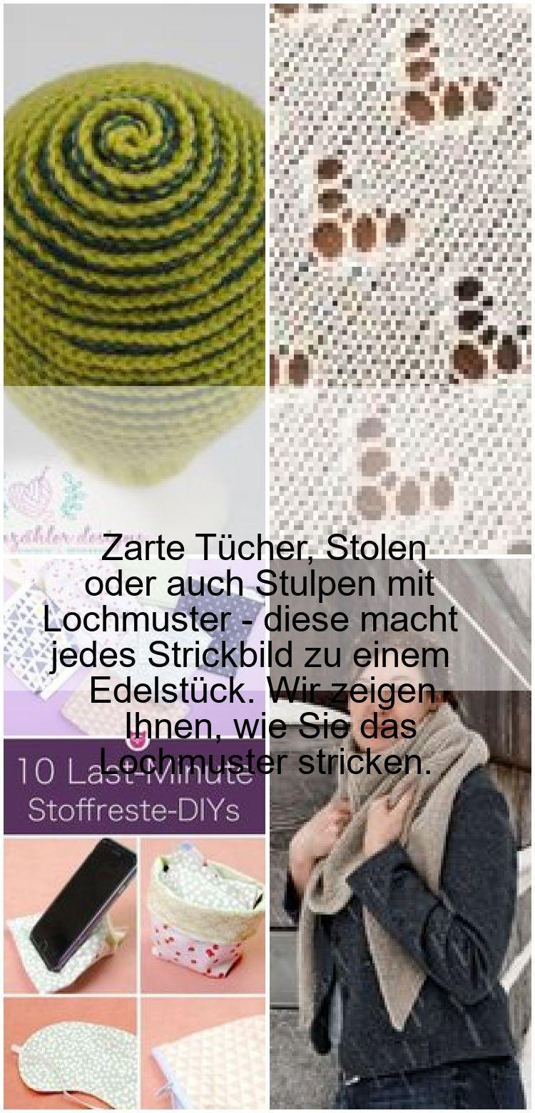 Photo of Lochmuster stricken – einfache DIY-Anleitung,  #DIYAnleitung #einfache #Lochmuster #stricken …