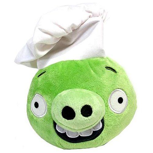 Angry Birds Plush 5In King Pig w Sound licensed product and soft plush