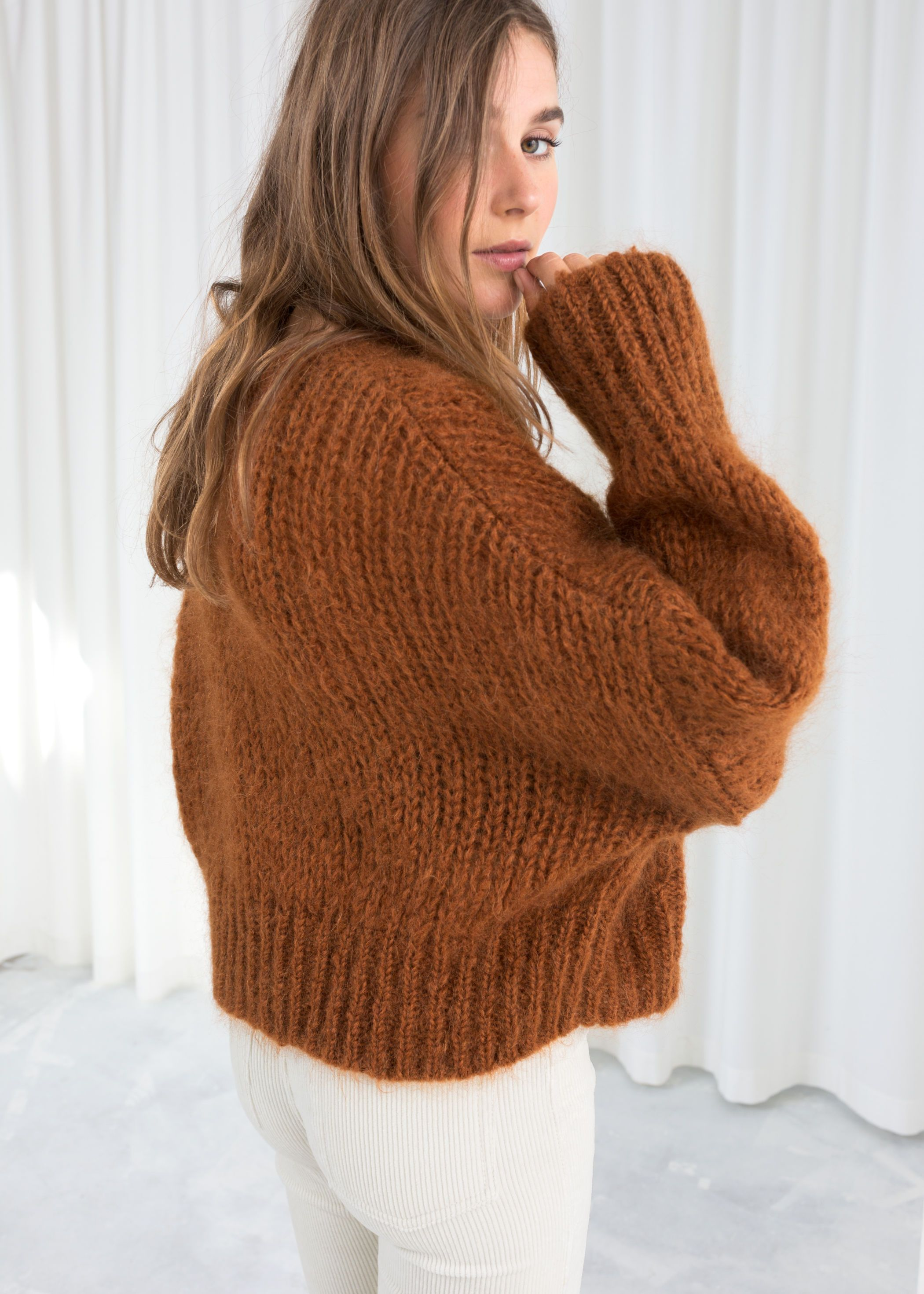 8dfbe2dd94fdd3 Wool Blend Chunky Knit Sweater | EDIT | The LauLauLand Shop ...