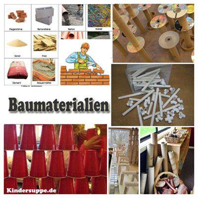 Bauen im Kindergarten Ideen #kitaräume