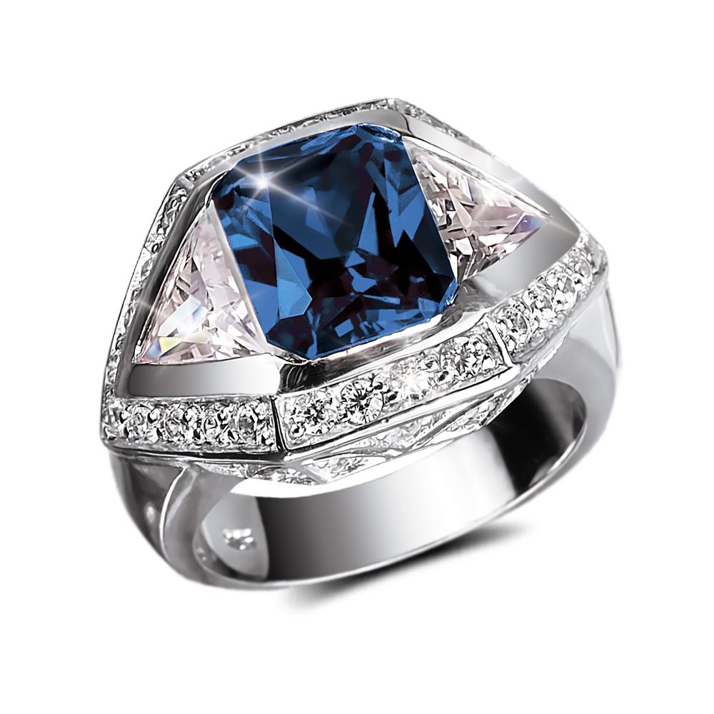 Baron Blue Men's Ring in 2020 Blue mens rings, Rings for
