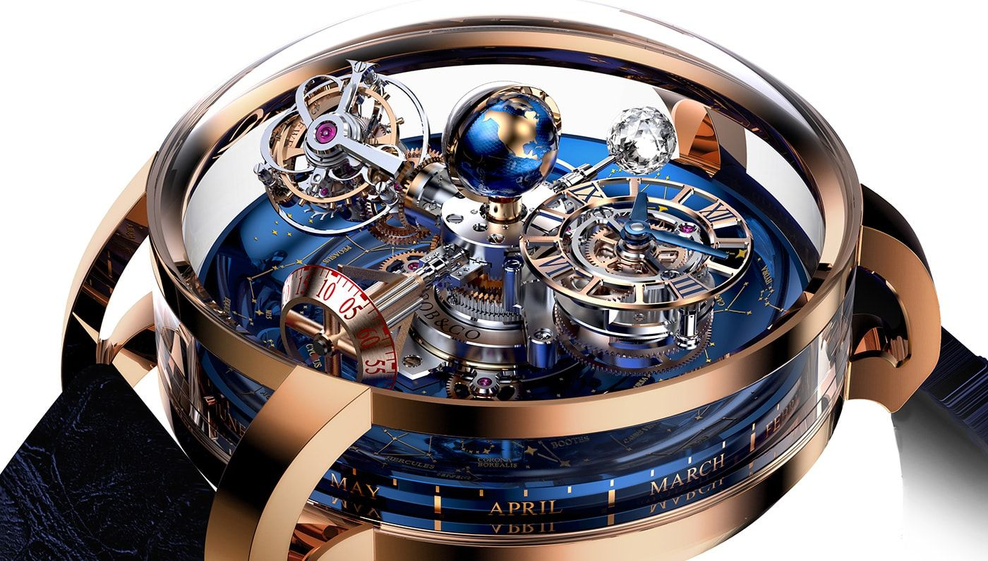 a0a64d60d10 Jacob   Co. Astronomia Tourbillon Baguette Watch For  1