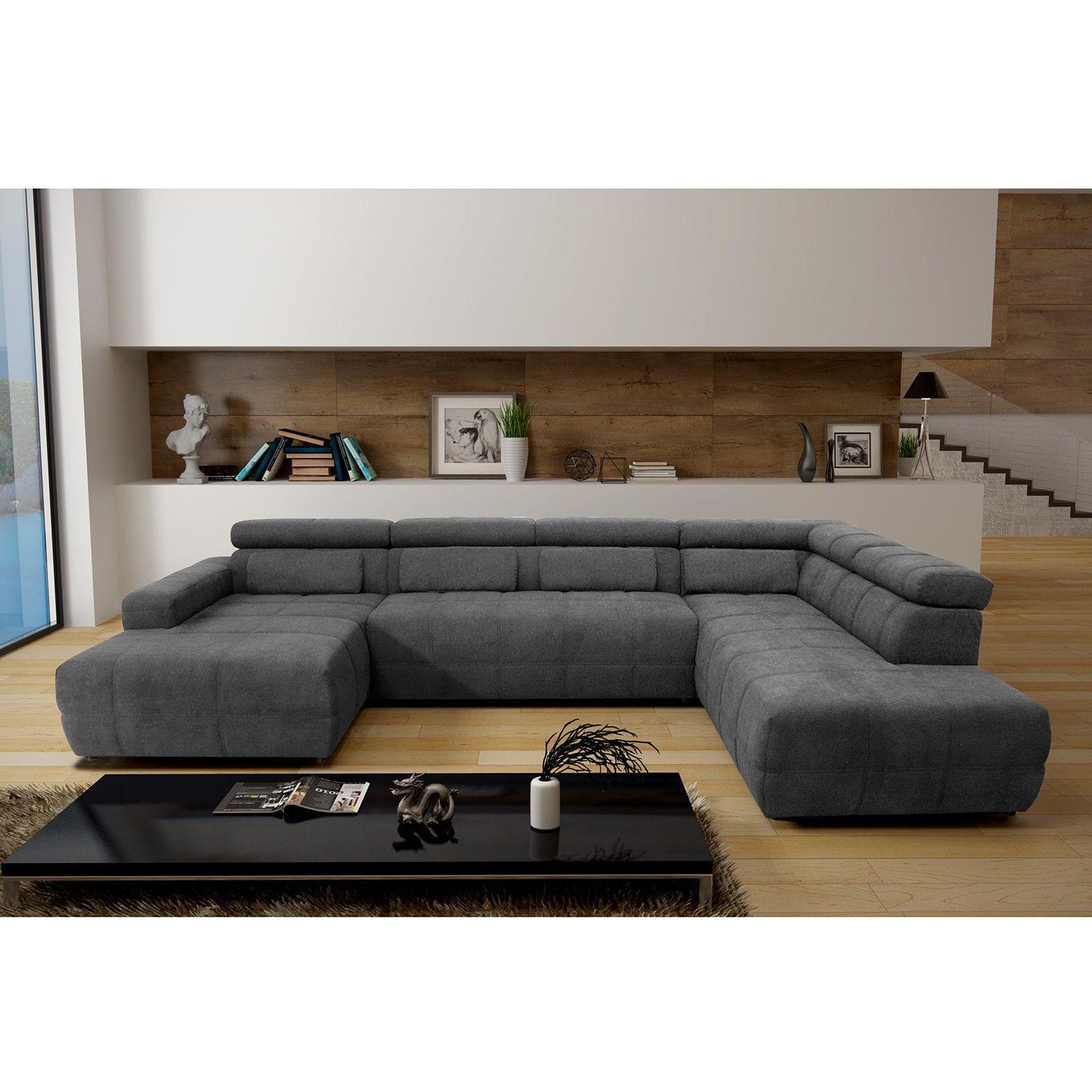 3 Sitzer Sofa rot Kunstleder verchromte Metallfüße Rücken im