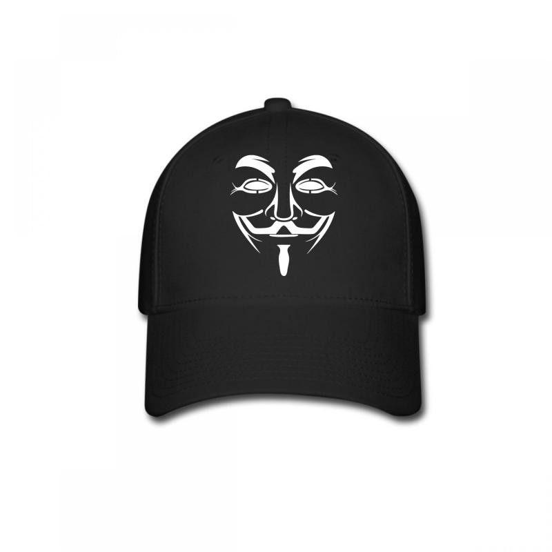 anonymous face Baseball Cap