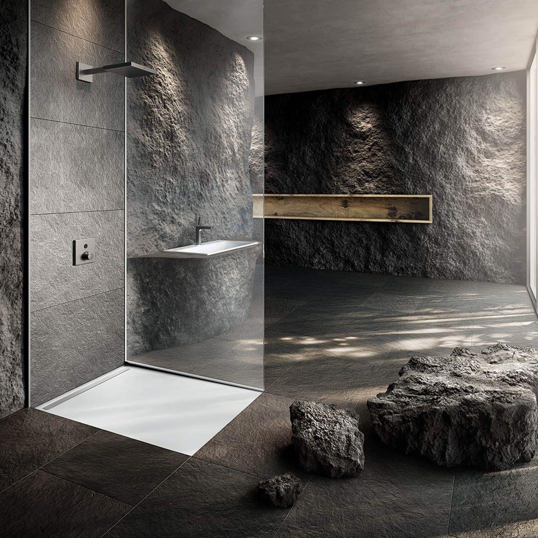 Design meets floorlevel showering. KALDEWEI shower