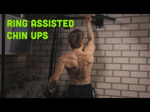 Learn The One Armed Chin Up: Ring Assisted Training