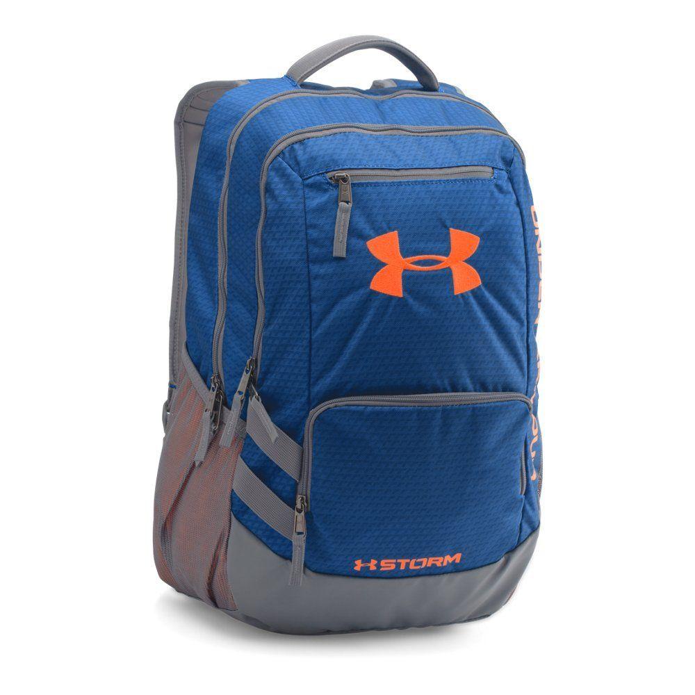 1b62aeda36f Under Armour Storm Hustle II Backpack, Royal Blaze Orange, One Size ...