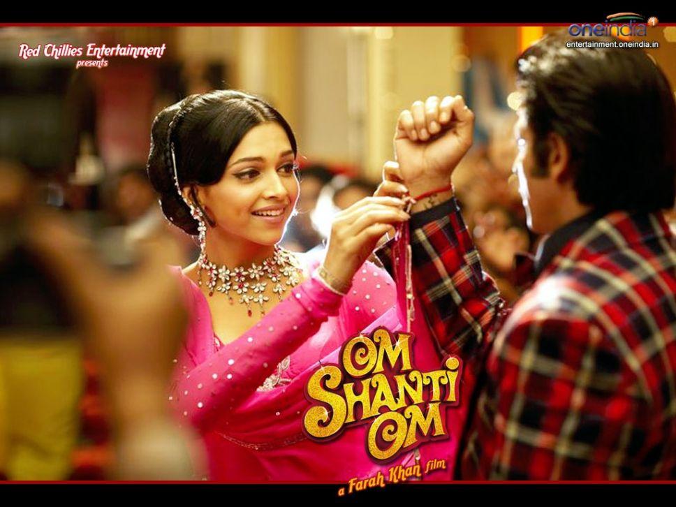 Deepika Padukone and Shahrukh Khan - Om Shanti Om (2007 ...