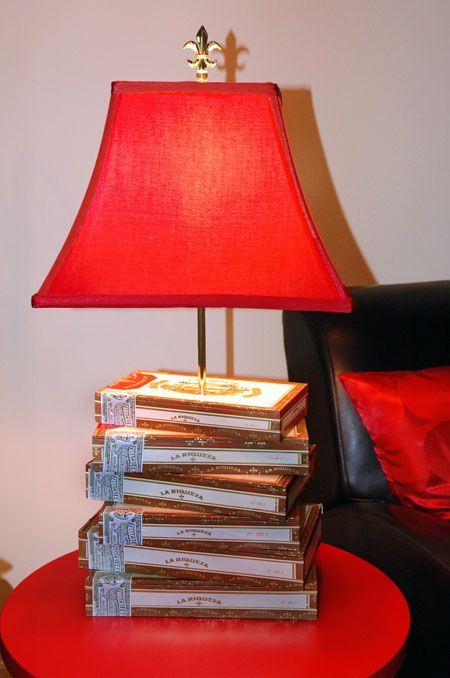 Cigar Box Lamp! I Can Make This!