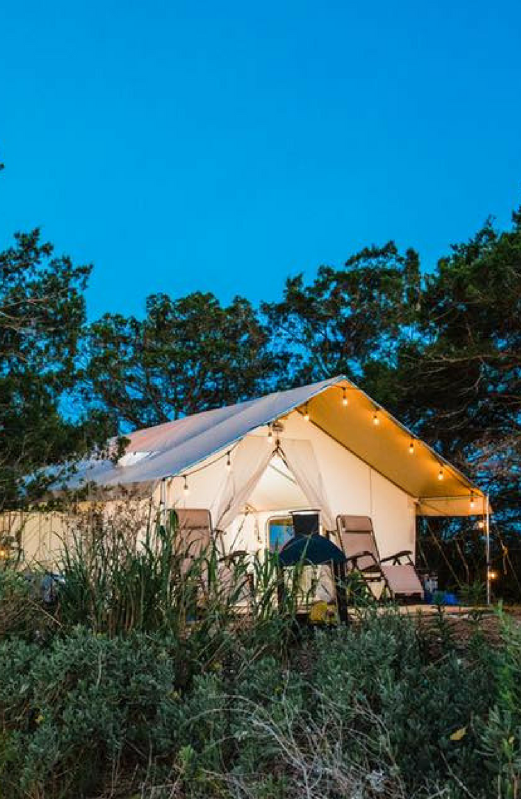 This Memorial Day, escape to this exclusive luxury tent on ...