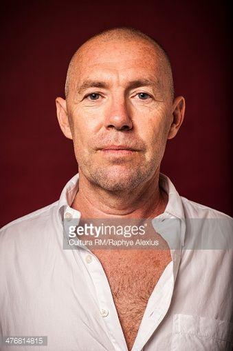 Stock Photo : Portrait of a mature man