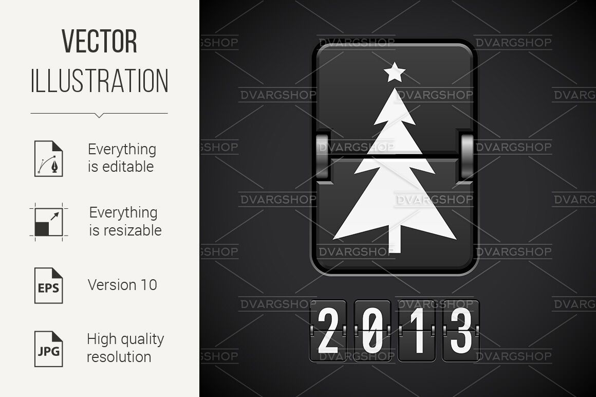 Scoreboard Christmas Tree By Dvargshop Thehungryjpeg Com Christmas Sponsored Scoreboard Tree Thehungry In 2020 New Year Symbols Modern Graphic Design Symbols