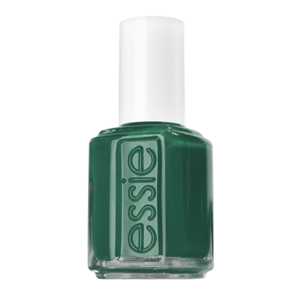 Going Incognito Your Identity May Be Secret But Your Style And Panache Are Impossible To Conceal With This Deep Emera Nail Polish Essie Nail Essie Nail Polish