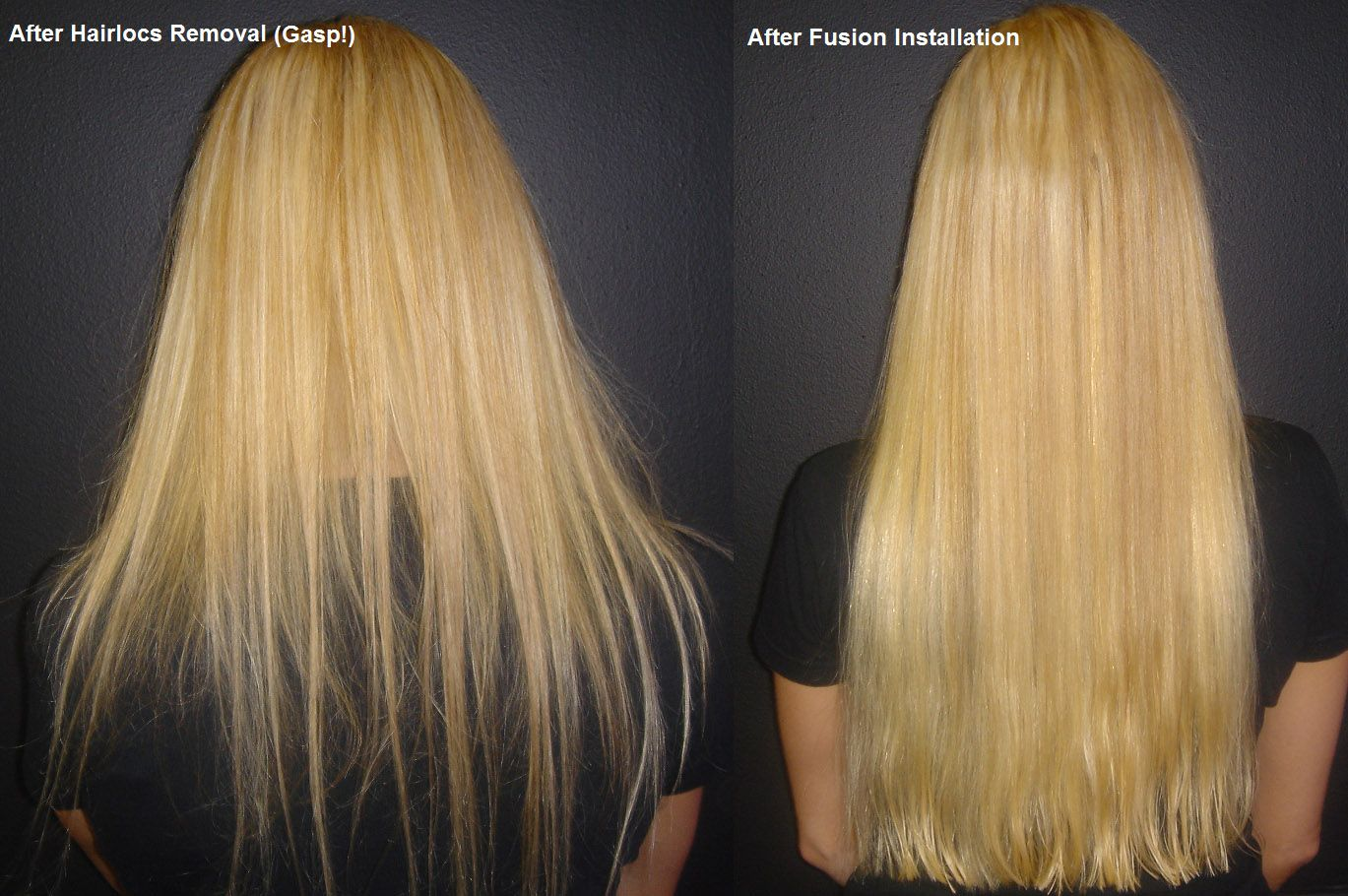 Before And After Fusion Extensions I Am Certified To Do These If