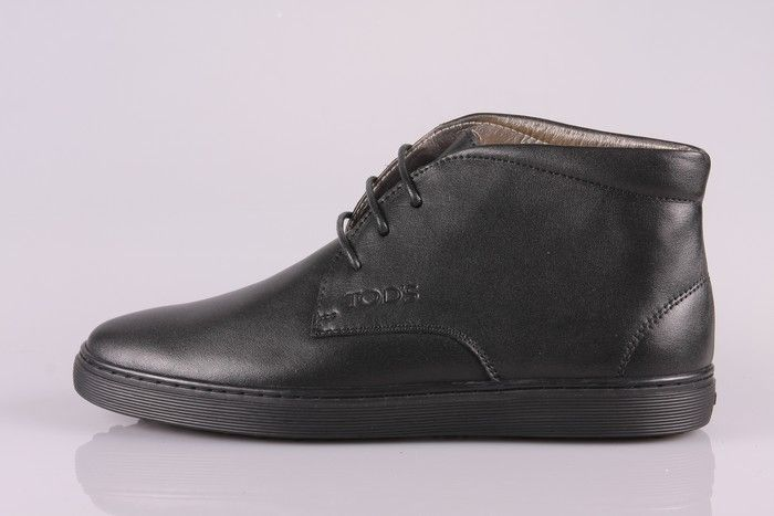 TODS MENS SUEDE ANKLE BOOTS SHOES BLACK