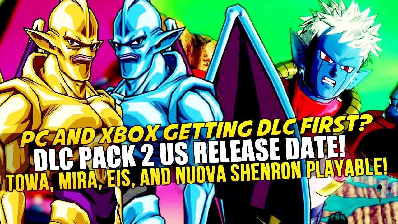 Dragon Ball Xenoverse Dlc Pack 2 Us Release Date Revealed Pc