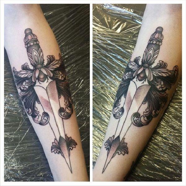 messer tattoo bedeutung