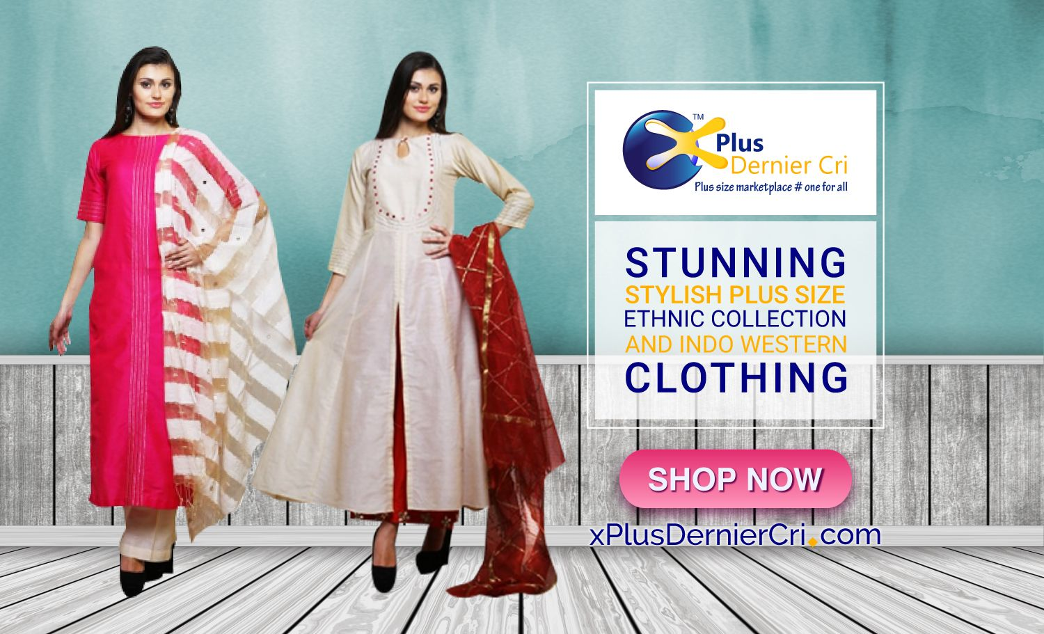 Pin on Plus size Indo Western dresses for women