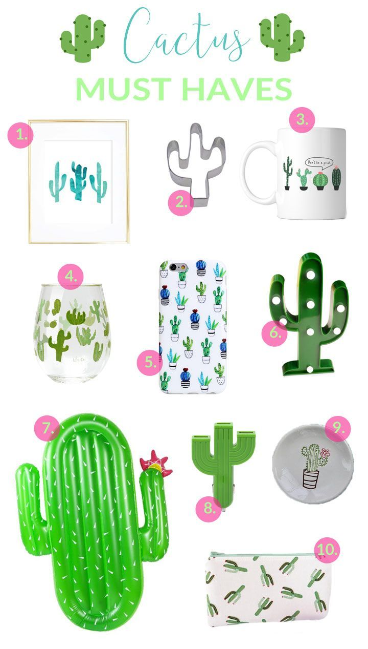 10 Things Every Cactus Lover Needs In Their Lives Decoracion