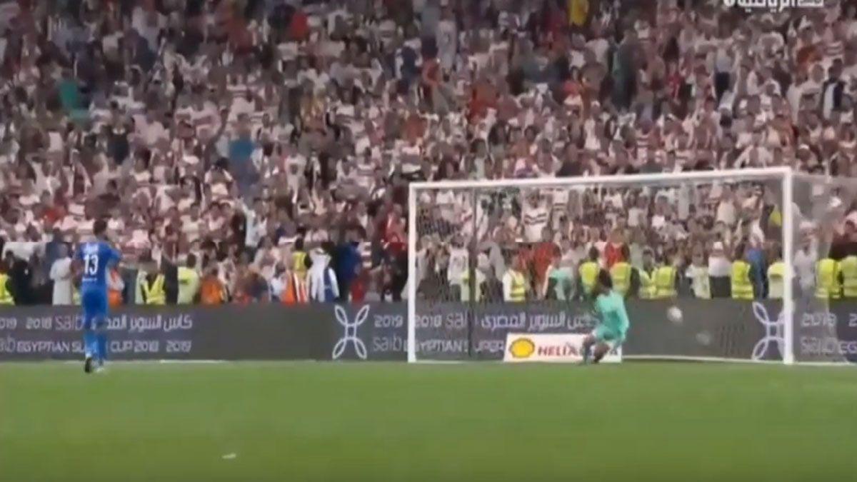 ملخص ضربات الجزاء مباراة الزمالك والاهلي 4 3 كاس السوبر المصري Soccer Field Sal Soccer