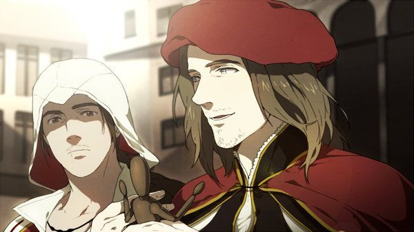 [AC2] Ezio and Leonardo