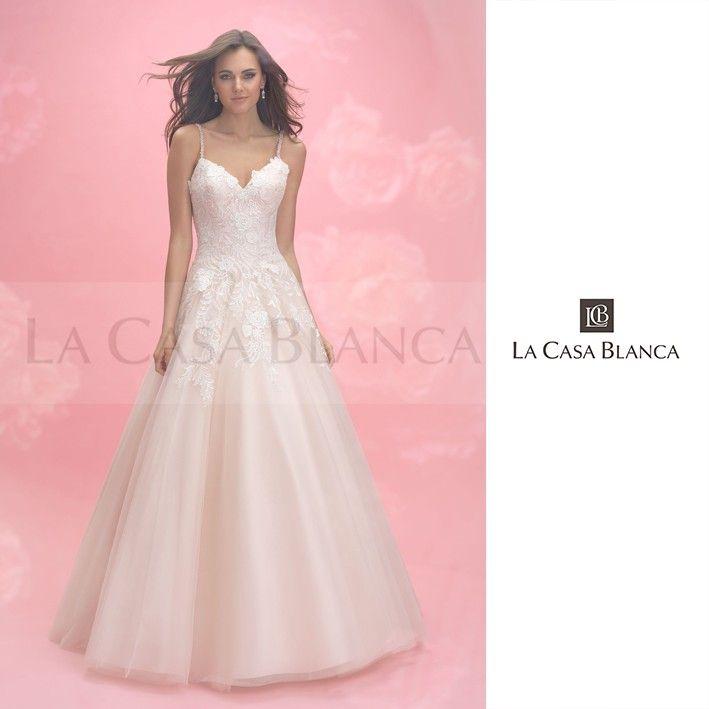 Un vestido divino de Allure Bridals 2018 ¡Lo amamos! #Chile #Novias ...