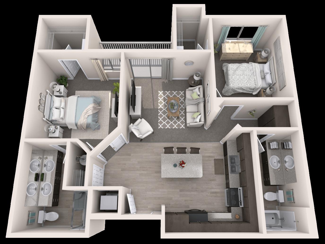 3d Floor Plans House Layout Plans Sims House Design Small House Plans