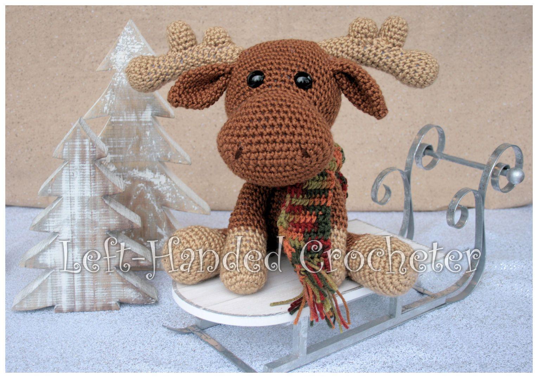 Marty the Moose - free crochet pattern | Crochet | Pinterest | Moose ...
