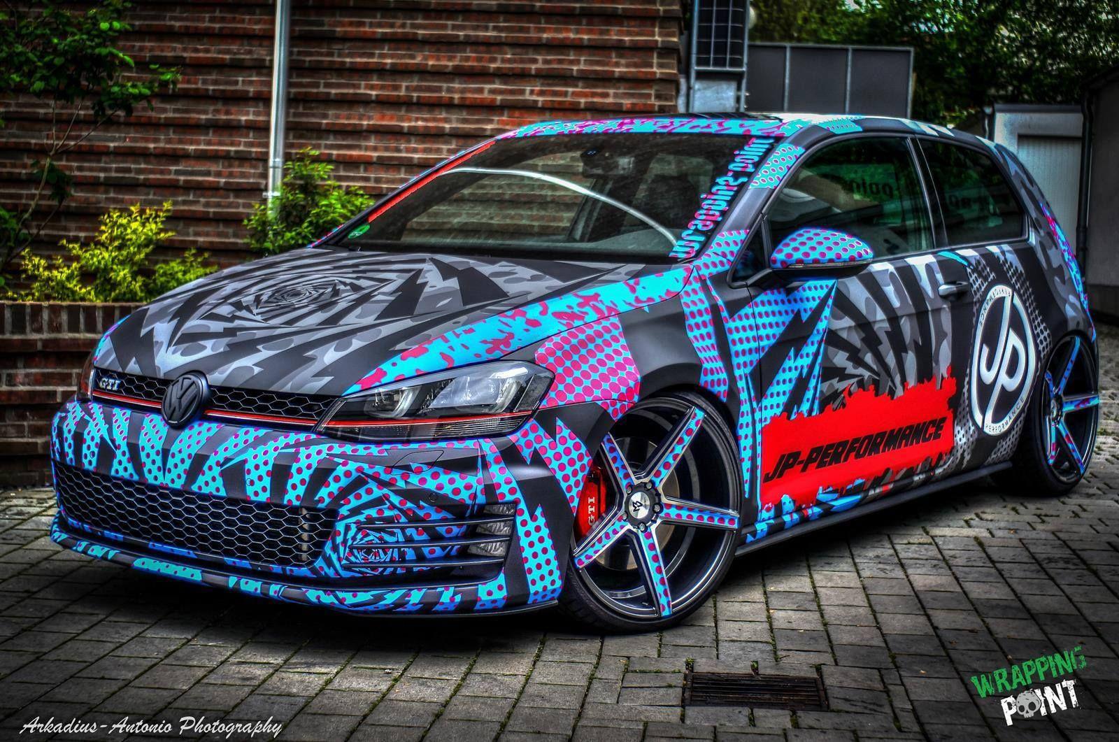 JP Performance GTI Wrap Wrapfolio auta