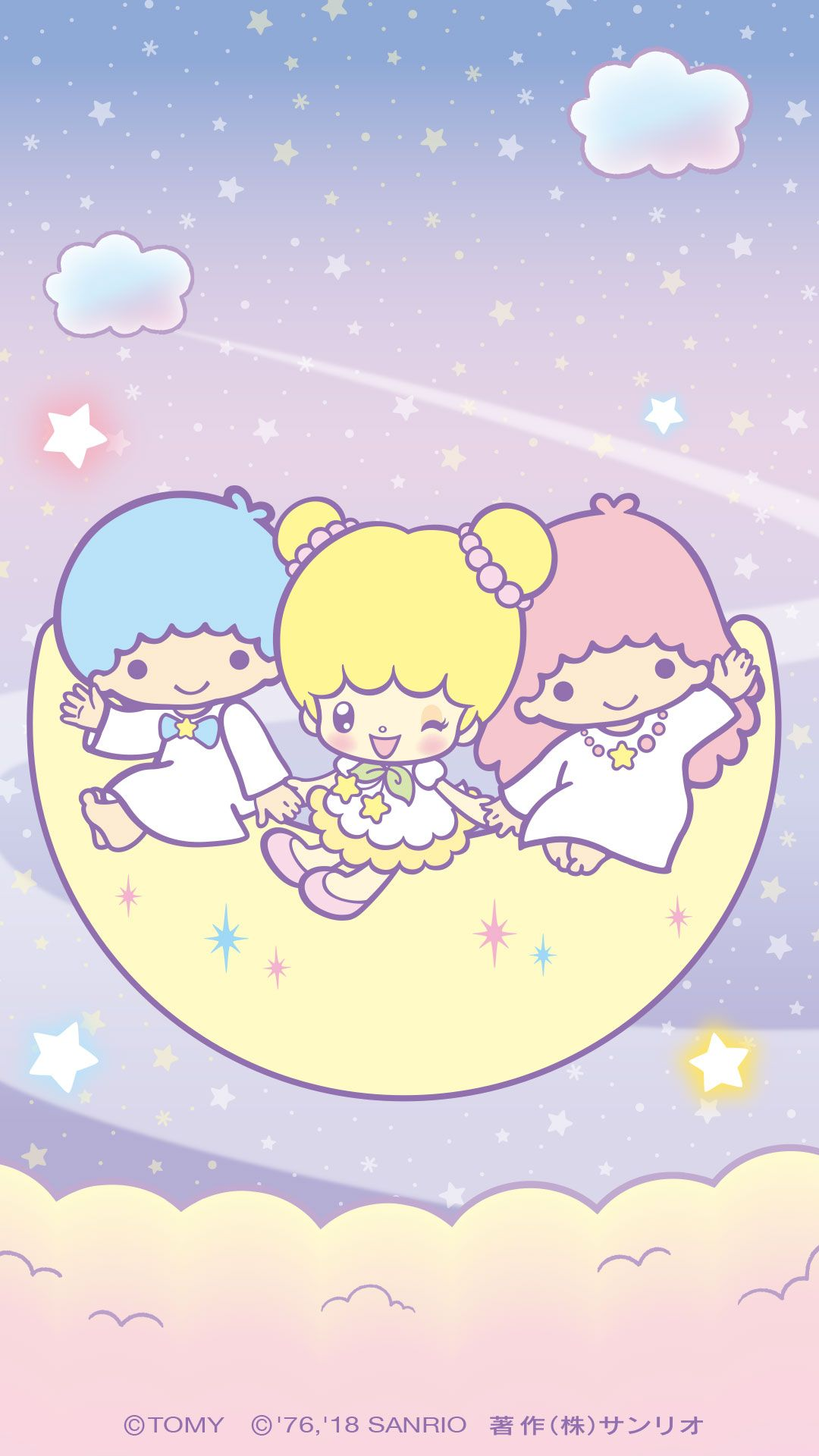 Little Twin Stars Wallpaper 2018 五月桌布 日本官方Twitter